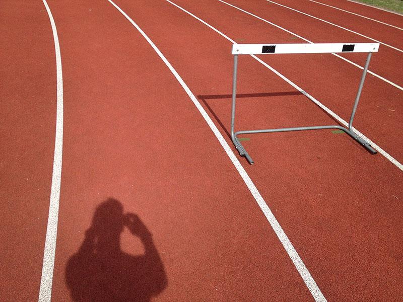 Track shadows
