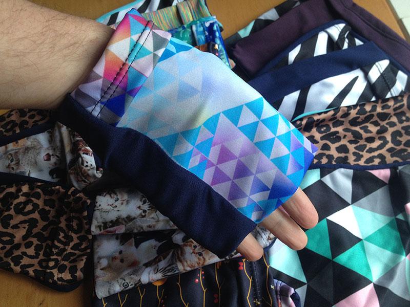 Armband pockets - on my hand