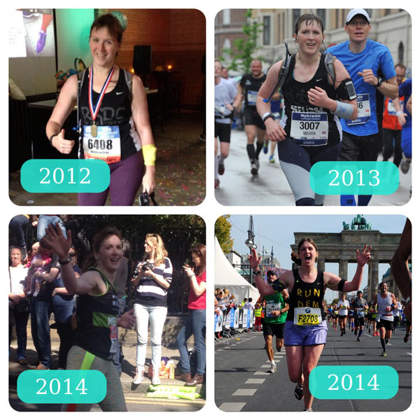 first four marathons