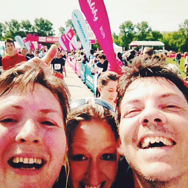Run Hackney finish selfie