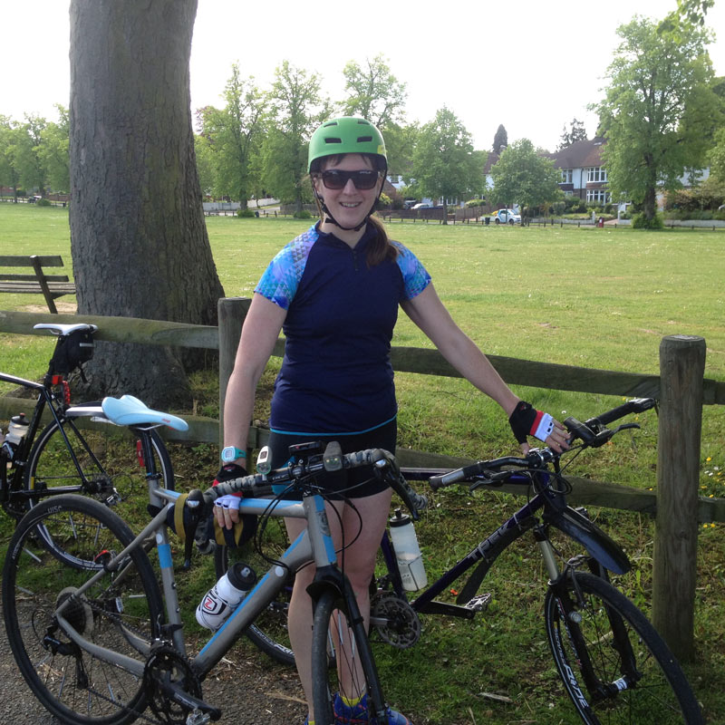 Halfway at the sportive