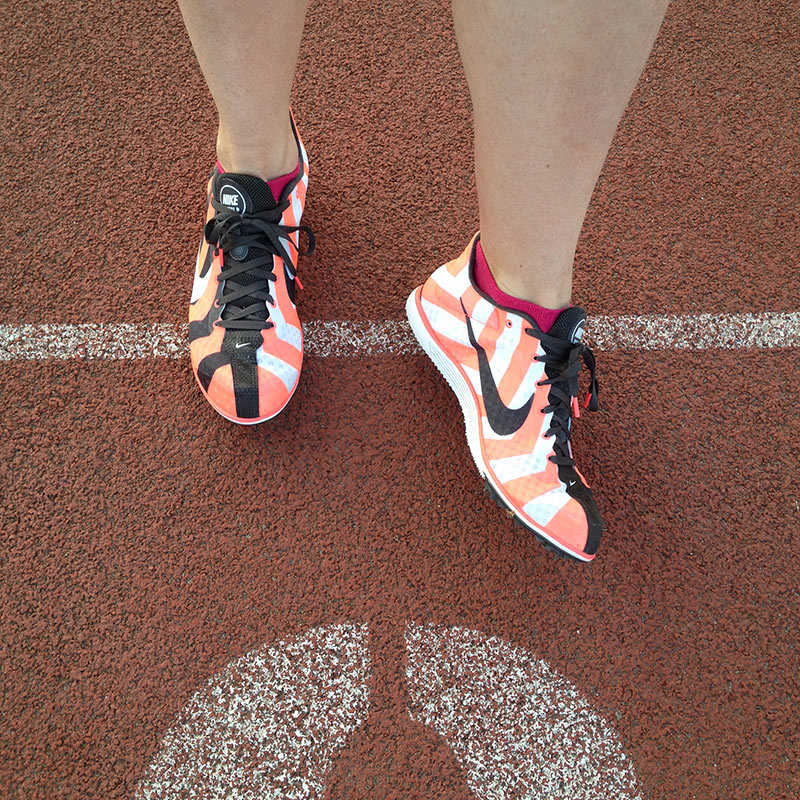 New track spikes