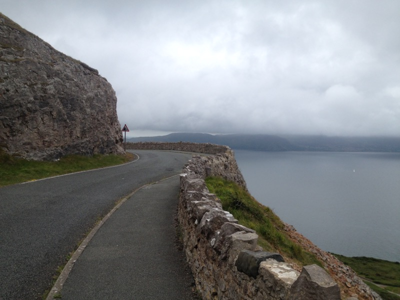 The Great Orme - running view