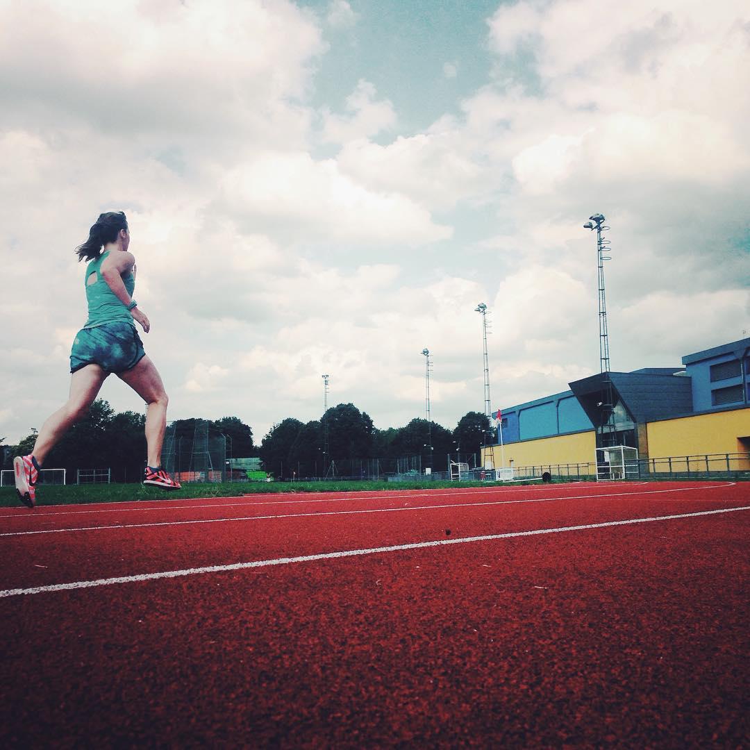 track training sprint