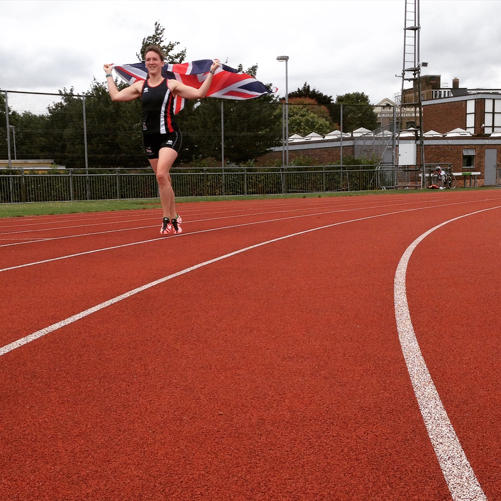 Running with the Union Jack