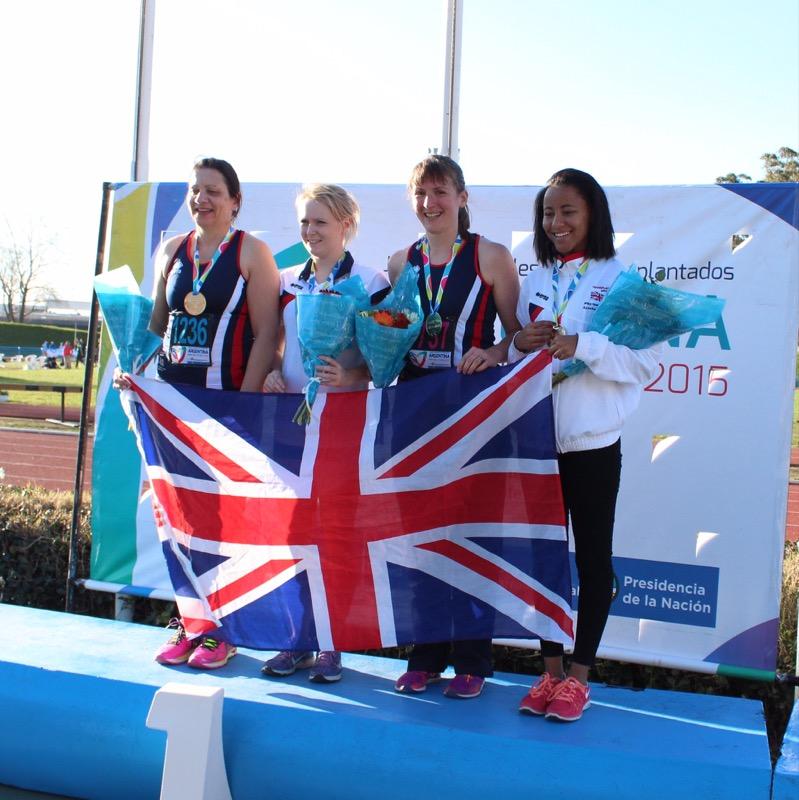 Team GB 4x400m relay team