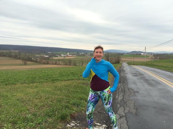 Running in PA