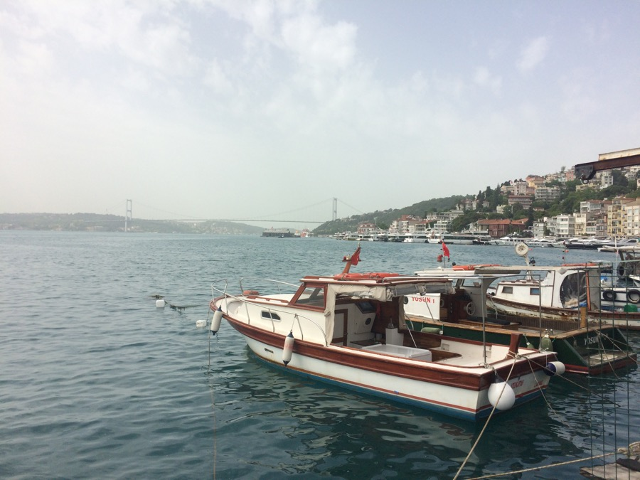 Istanbul - Bosphorus and boats