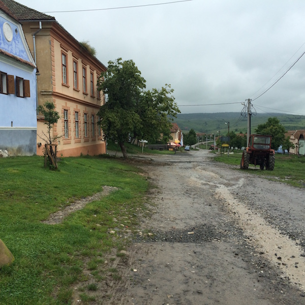 Viscri main street