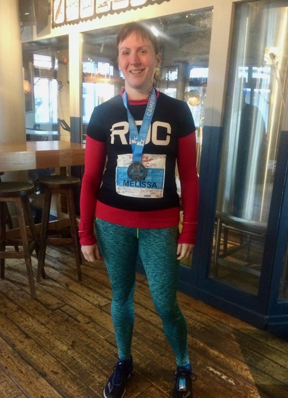Cambridge Half medal