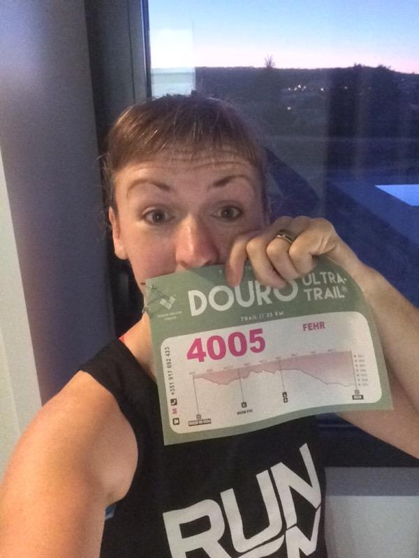 Melissa race number selfie