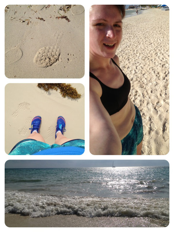 Playa del Carmen beach run