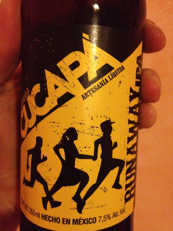 Runaway beer